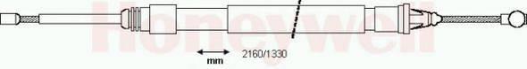 BENDIX 433121B Трос, стояночная тормозная система
