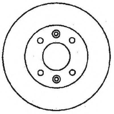 BENDIX 561237B Тормозной диск