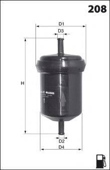 DR!VE+ DP1110130013 Топливный фильтр