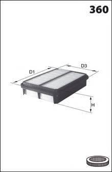 DR!VE+ DP1110100112 Воздушный фильтр