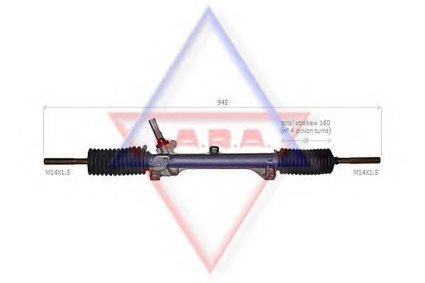 LA.R.A. 300022 Рулевой механизм