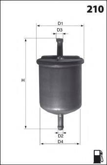 LUCAS FILTERS LFPF040 Топливный фильтр