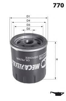 LUCAS FILTERS LFOS101 Масляный фильтр