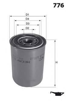 LUCAS FILTERS LFOS155 Масляный фильтр
