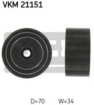 SKF VKM21151 Паразитный / Ведущий ролик, зубчатый ремень