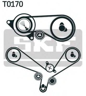 SKF VKMA01152 Комплект ремня ГРМ