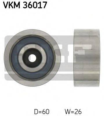 SKF VKM36017 Паразитный / ведущий ролик, поликлиновой ремень