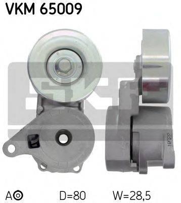 SKF VKM65009 Натяжной ролик, поликлиновой  ремень