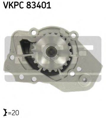 SKF VKPC83401 Водяной насос