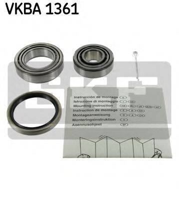 SKF VKBA1361 Комплект подшипника ступицы колеса