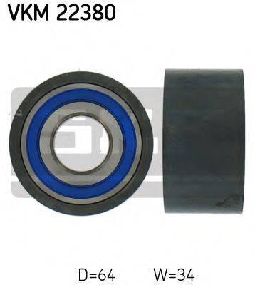 SKF VKM22380 Паразитный / Ведущий ролик, зубчатый ремень