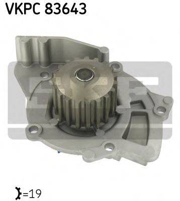SKF VKPC83643 Водяной насос