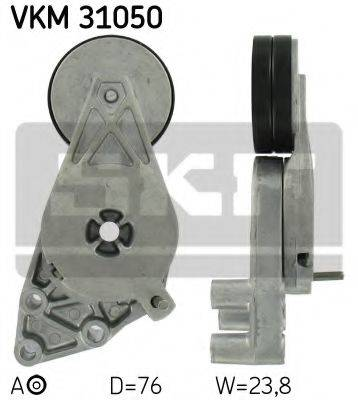 SKF VKM31050 Натяжной ролик, поликлиновой  ремень