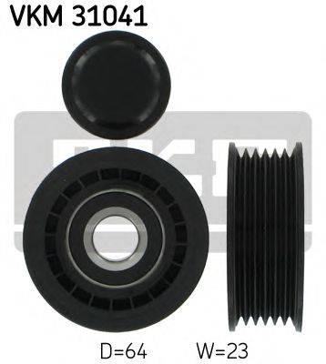 SKF VKM31041 Паразитный / ведущий ролик, поликлиновой ремень