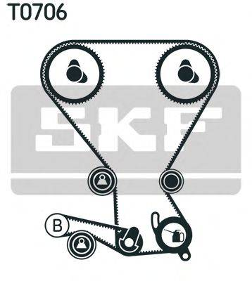 SKF VKMS95666 Комплект ремня ГРМ