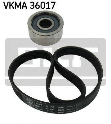 SKF VKMA36017 Поликлиновой ременный комплект