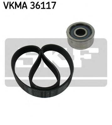 SKF VKMA36117 Поликлиновой ременный комплект