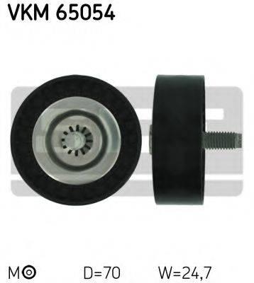 SKF VKM65054 Паразитный / ведущий ролик, поликлиновой ремень