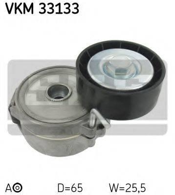 SKF VKM33133 Натяжной ролик, поликлиновой  ремень