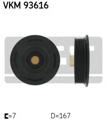 SKF VKM93616 Ременный шкив, коленчатый вал