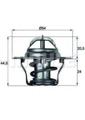 BEHR TX483D Термостат, охлаждающая жидкость