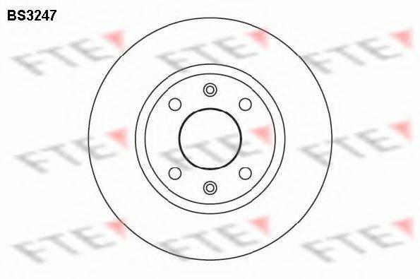 FTE BS3247 Тормозной диск