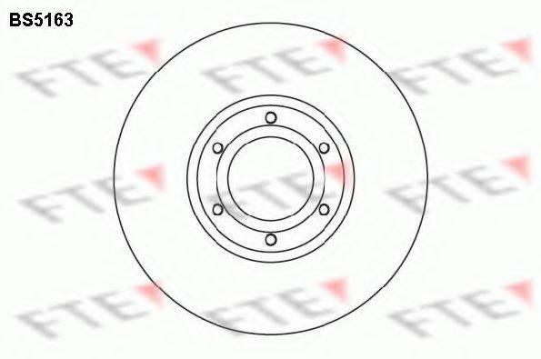 FTE BS5163 Тормозной диск