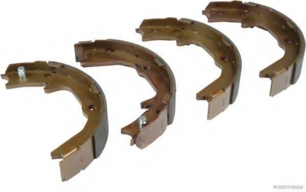 HERTH+BUSS JAKOPARTS J3515000 Комплект тормозных колодок, стояночная тормозная система
