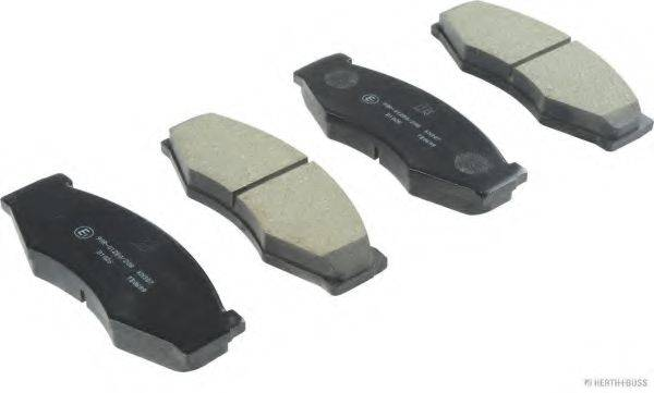 HERTH+BUSS JAKOPARTS J3601011 Комплект тормозных колодок, дисковый тормоз