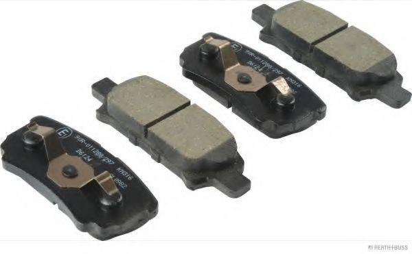 HERTH+BUSS JAKOPARTS J3615014 Комплект тормозных колодок, дисковый тормоз