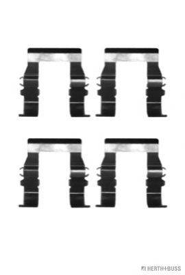HERTH+BUSS JAKOPARTS J3665007 Комплектующие, колодки дискового тормоза