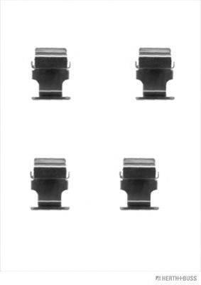 HERTH+BUSS JAKOPARTS J3665013 Комплектующие, колодки дискового тормоза