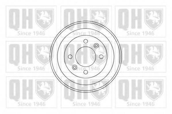 QUINTON HAZELL BDR139 Тормозной барабан