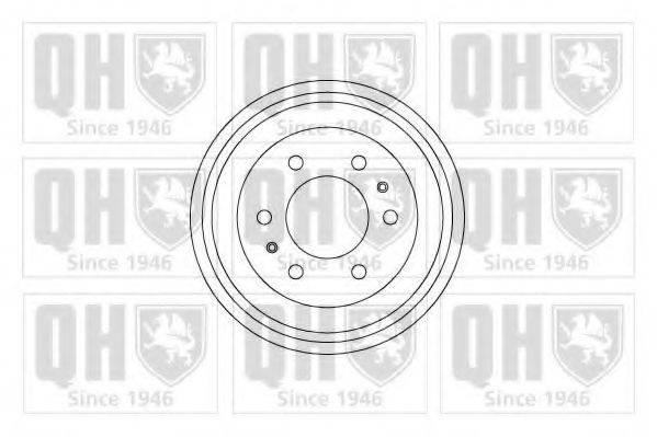 QUINTON HAZELL BDR415 Тормозной барабан