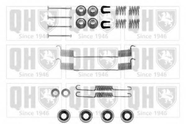 QUINTON HAZELL BFK254 Комплектующие, тормозная колодка