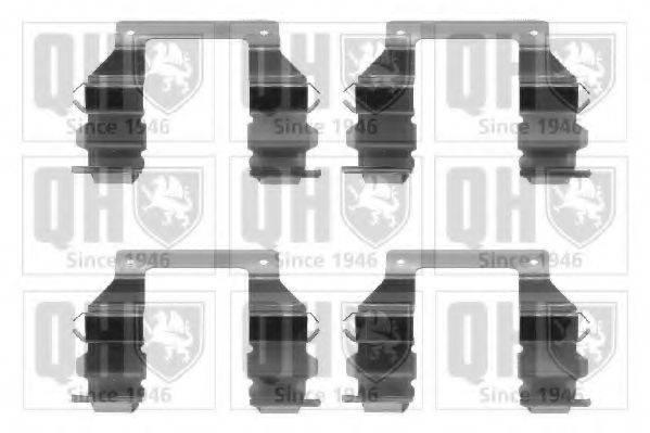 QUINTON HAZELL BFK716 Комплектующие, колодки дискового тормоза