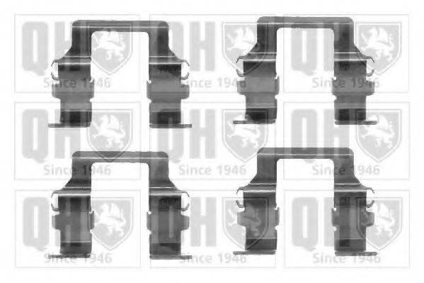 QUINTON HAZELL BFK722 Комплектующие, колодки дискового тормоза