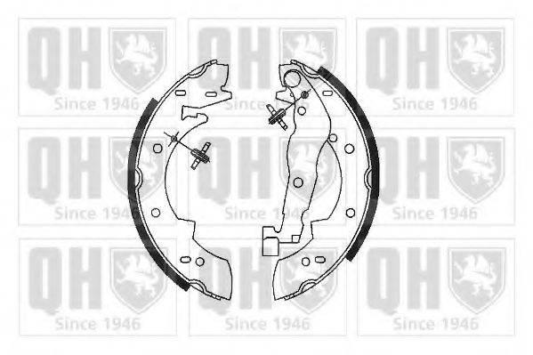 QUINTON HAZELL BS678 Комплект тормозных колодок