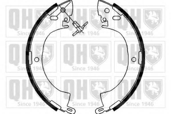QUINTON HAZELL BS741 Комплект тормозных колодок