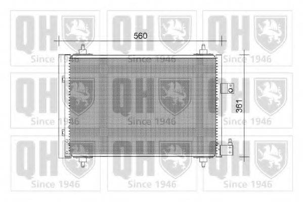 QUINTON HAZELL QCN392 Конденсатор, кондиционер