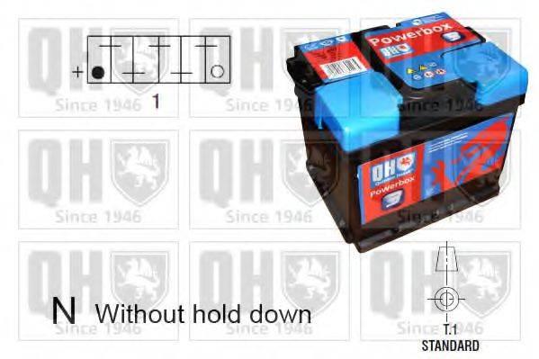 QUINTON HAZELL QBT0313 Стартерная аккумуляторная батарея