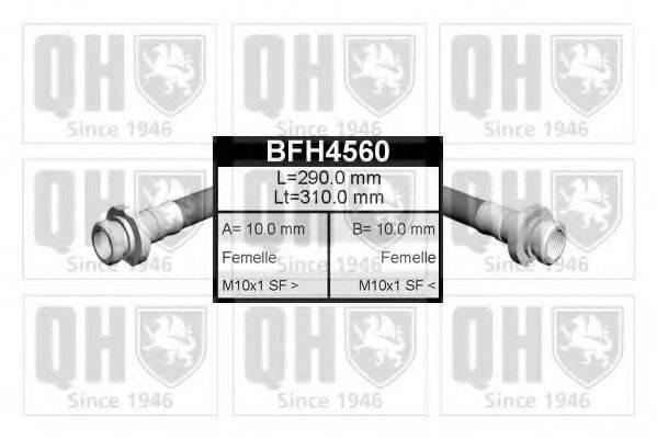 QUINTON HAZELL BFH4560 Тормозной шланг