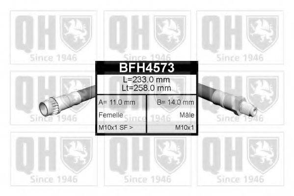 QUINTON HAZELL BFH4573 Тормозной шланг