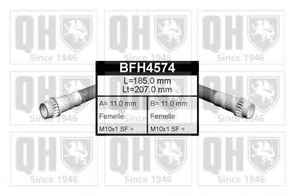 QUINTON HAZELL BFH4574 Тормозной шланг