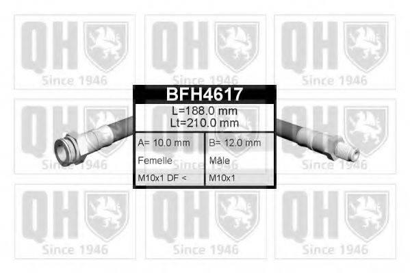 QUINTON HAZELL BFH4617 Тормозной шланг