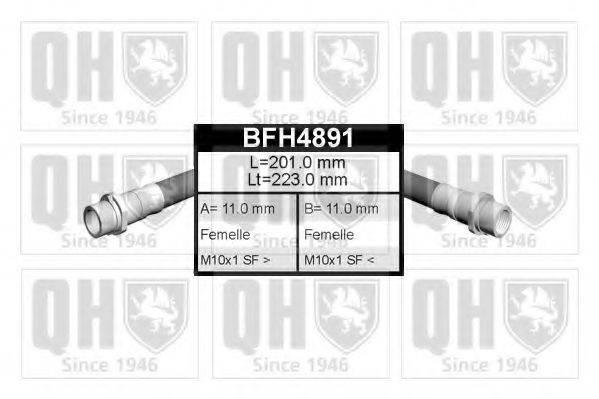 QUINTON HAZELL BFH4891 Тормозной шланг