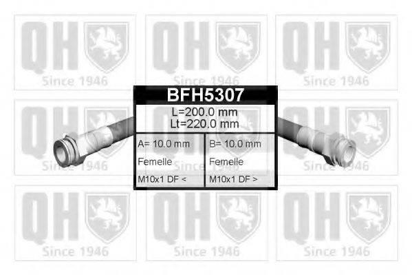 QUINTON HAZELL BFH5307 Тормозной шланг