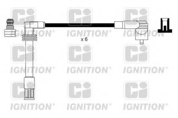 QUINTON HAZELL XC1122 Комплект проводов зажигания