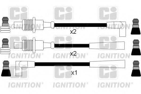 QUINTON HAZELL XC121 Комплект проводов зажигания