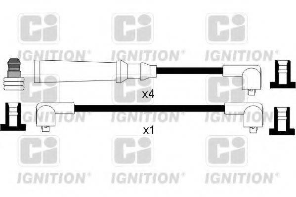 QUINTON HAZELL XC349 Комплект проводов зажигания